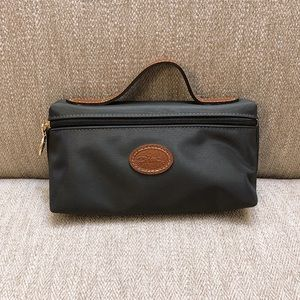 Longchamp Le Pliage Cosmetic Bag Black